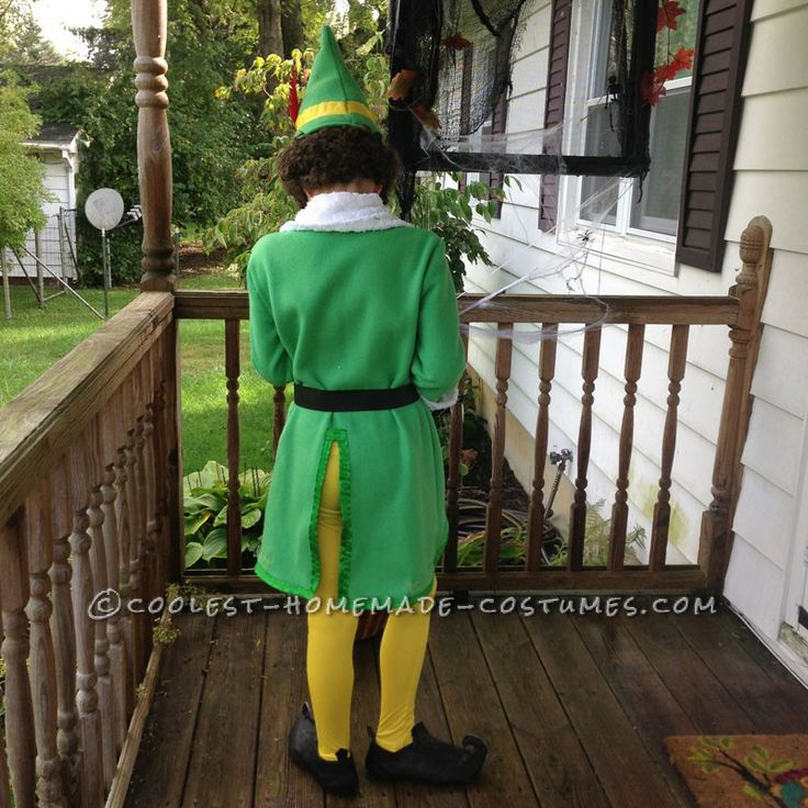 Coolest Homemade Buddy the Elf Costume ... This website is the Pinterest of costumes