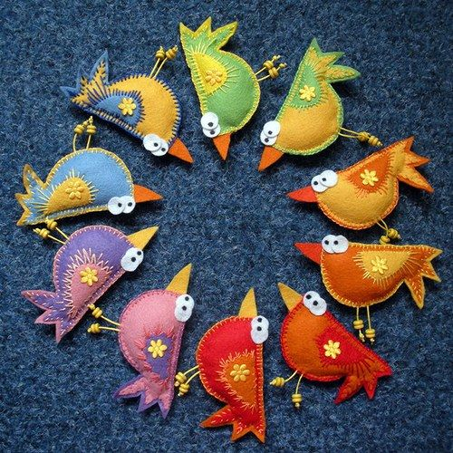 crazy cute birdies!