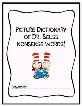 Free Picture dictionary of Dr. Seuss words.