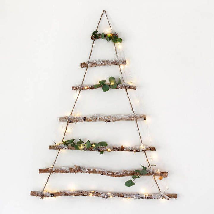 Lights4fun Birch Branch Hanging Christmas Tree (promotion)