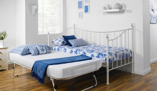 Bensons for Beds   Iris Metal Trundle   Bed Frames   Ideas for the House    Pinterest   Pearls  Day bed and White day. Bensons for Beds   Iris Metal Trundle   Bed Frames   Ideas for the