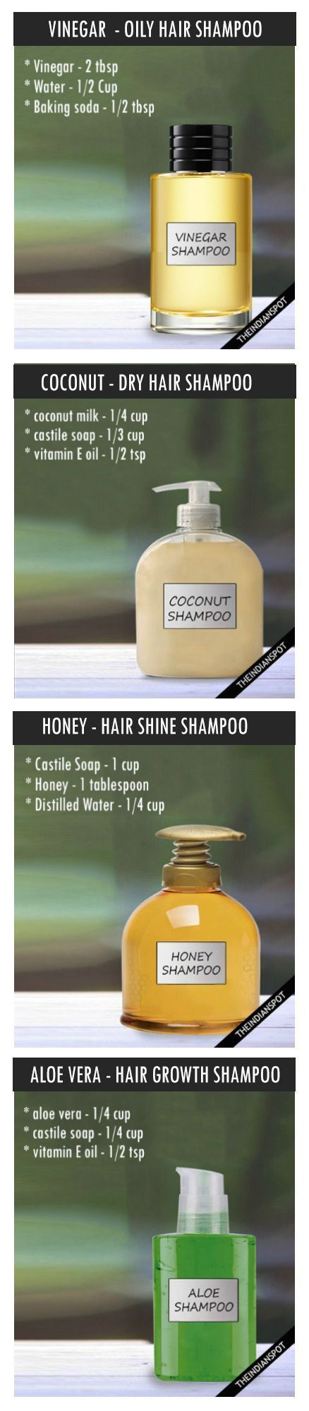 DIY ALL NATURAL SHAMPOO RECIPE FOR EVERY HAIR TYPE