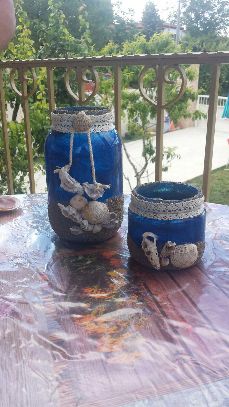 Diy summer vase