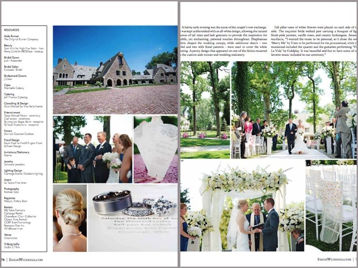 Viva Bella Events Cincinnati Wedding Planner Inside Weddings Magazine