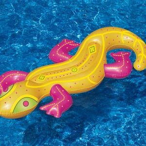 Great for lounging around this bright coloured  Pool float is a must have this summer.