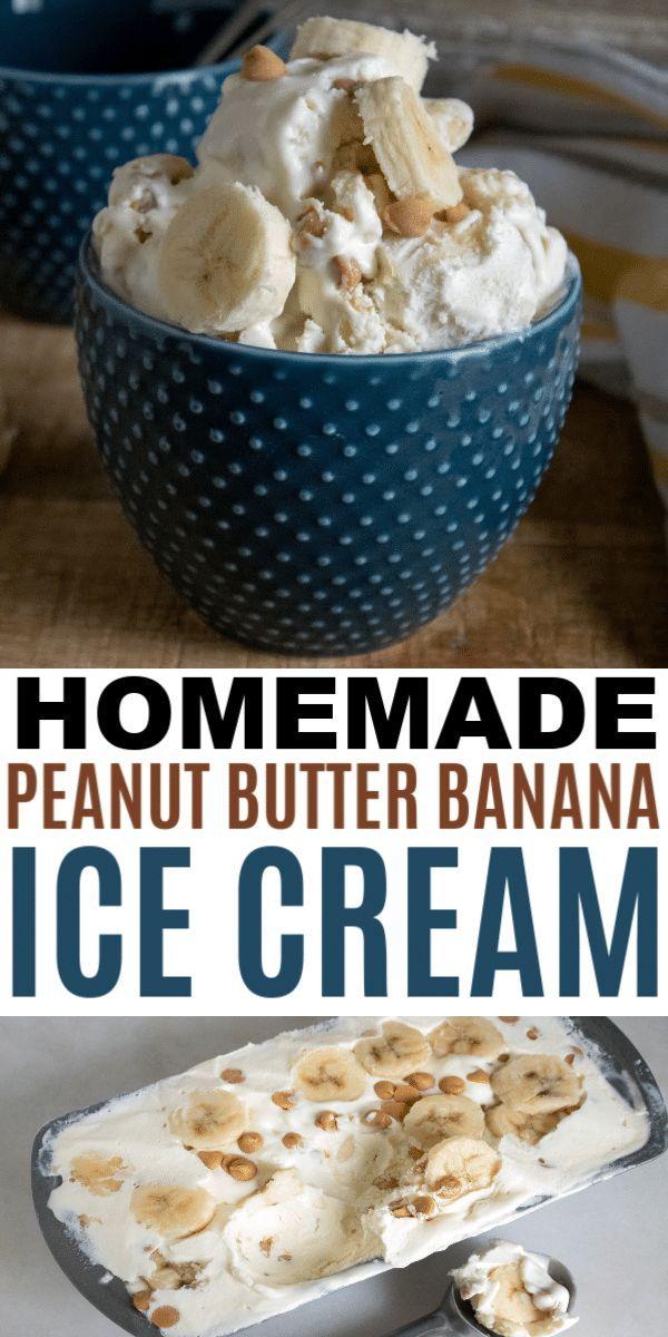 Este sencillo helado casero de plátano y mantequilla de maní es una receta sencilla …   – Wondermom Wannabe