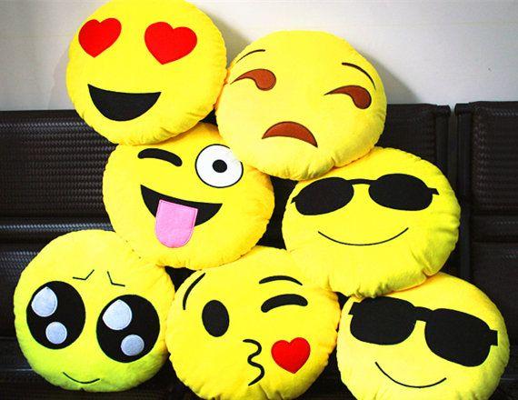EmojiEmoji PillowExpression PillowShaped by Amycostore on Etsy