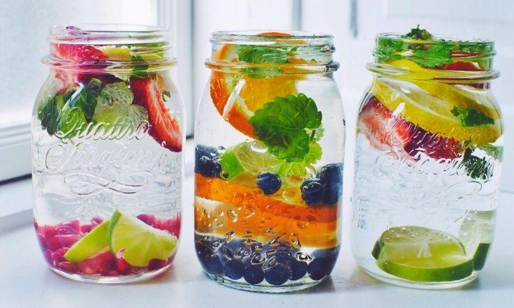 Water drinken saai? Niet met deze variaties!