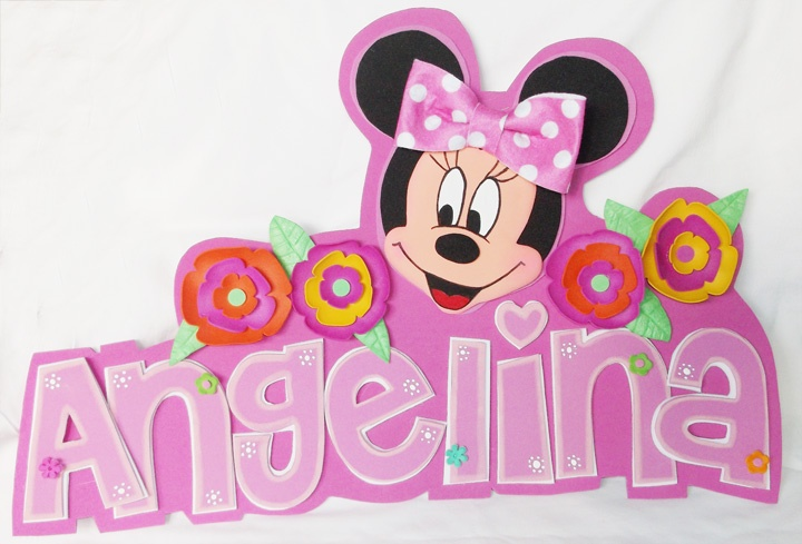 Minnie Mouse 3d Wall Decor