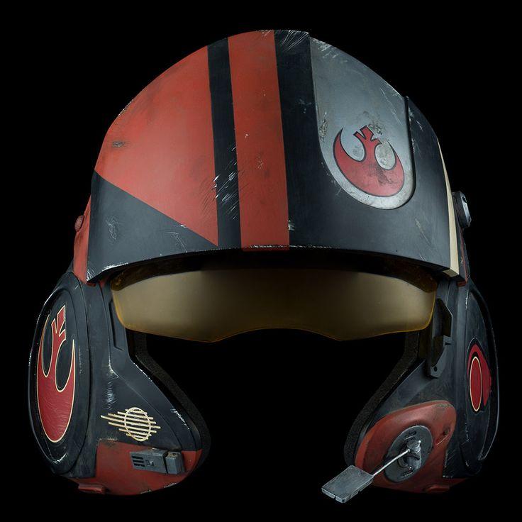 Star Wars The Force Awakens Poe Dameron X-Wing Helmet