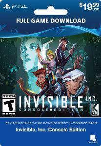 Invisible, Inc Console Edition - PlayStation 4 [Digital Download]