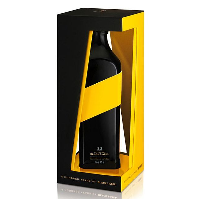 Black label #whisky #packaging