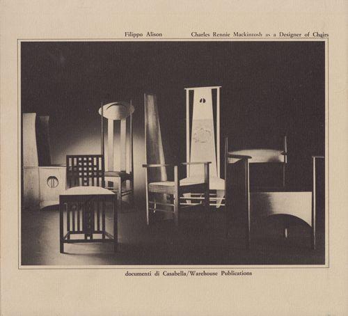 Charles Rennie Mackintosh as a Designer of Chairs チャールズ・レニー・マッキントッシュ