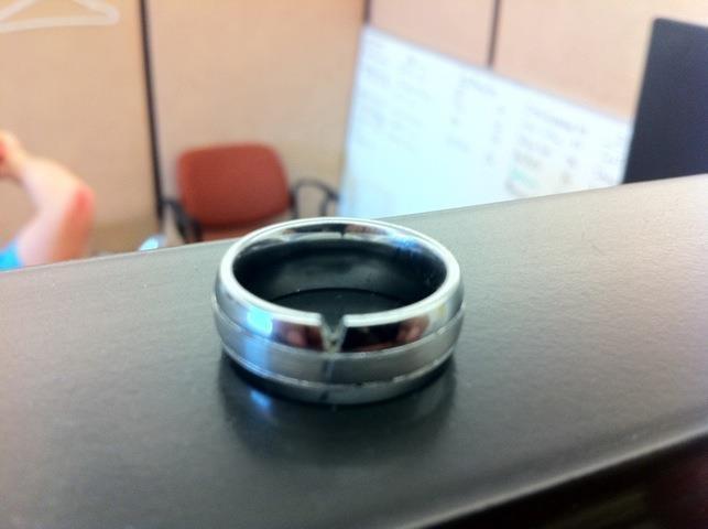 24 best Broken Tungsten Carbide Rings images on Pinterest Tell