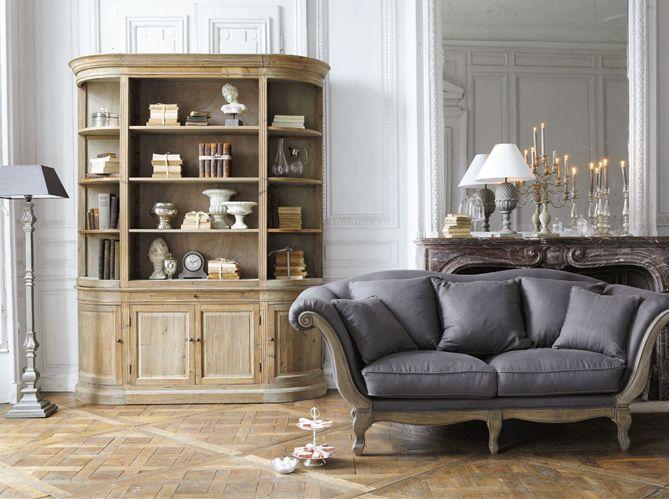 Miroir chandelier biblioth que lampe canap wedding pinterest deco - Chandelier maison du monde ...