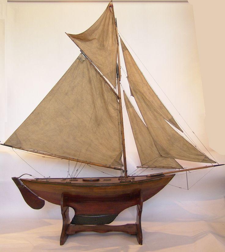 Vintage Pond Yacht   Pond Yachts, model sailboats ...