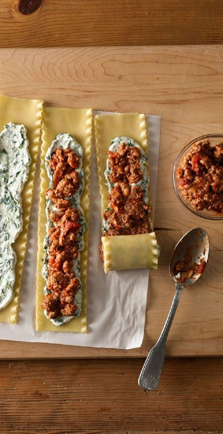 Make-Ahead Meat-Lovers' Lasagna Roll-Ups - 15 Make-Ahead Lunch Ideas | GleamItUp