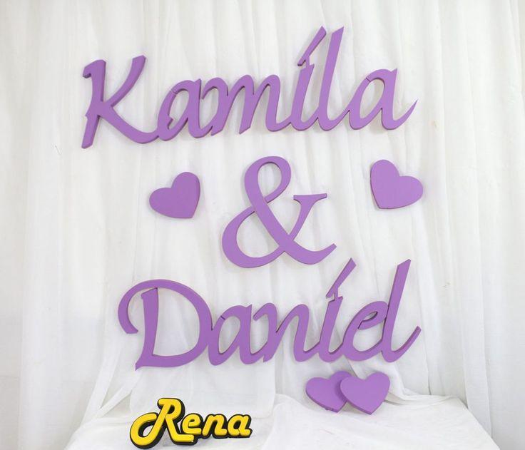 Ślubne imiona  Młodej Pary Kamila&Daniel