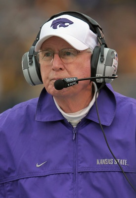 Head coach Bill Snyder of the Kansas State Wildcat Football Team.  All my respect.