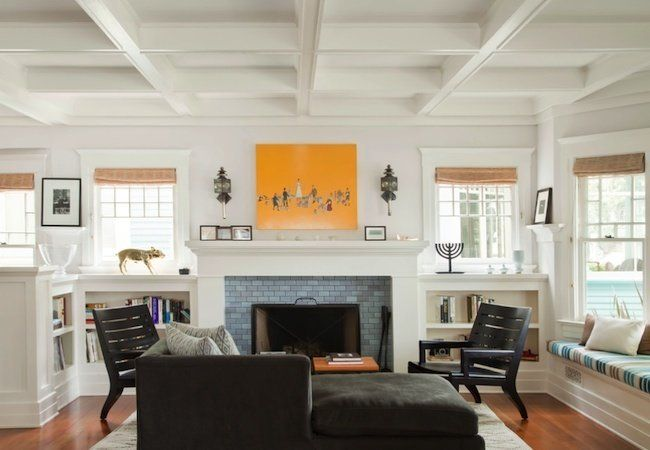 Planning Guide Fireplaces Craftsman Living Rooms Build A