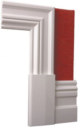 Classic Architraves   Edwardian Architectural and Decorative Mouldings, Edwardian Wall Skirting Boards, Edwardian Architraves