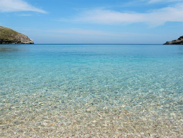 Crystal blue waters of #Andros!