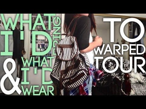 ✿ WARPED TOUR ✿: What to Bring & What I'd Wear