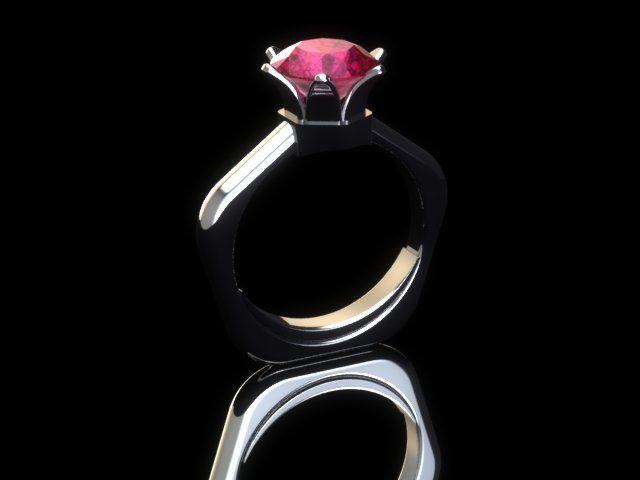 Pomegranate Jewel Ring.