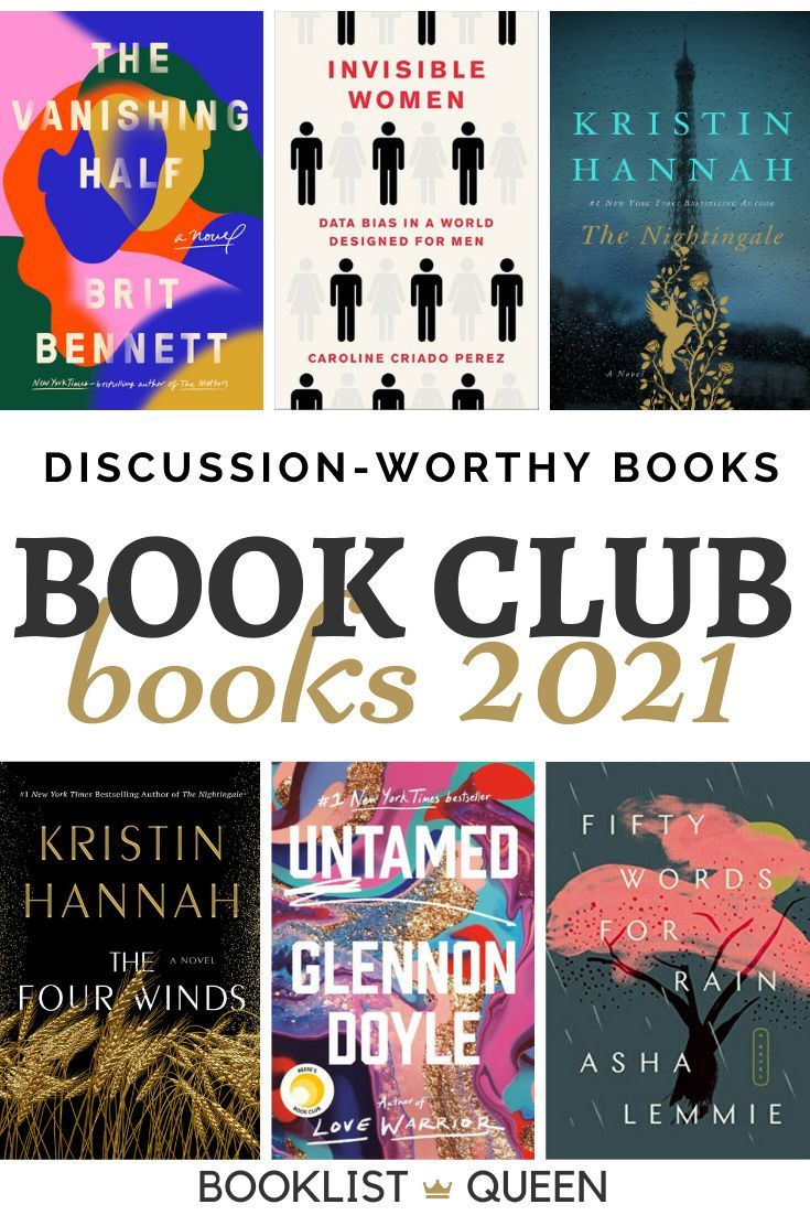 Top 21 Book Club Books For 2021 Book Club Books Book Club Recommendations Best Book Club Books