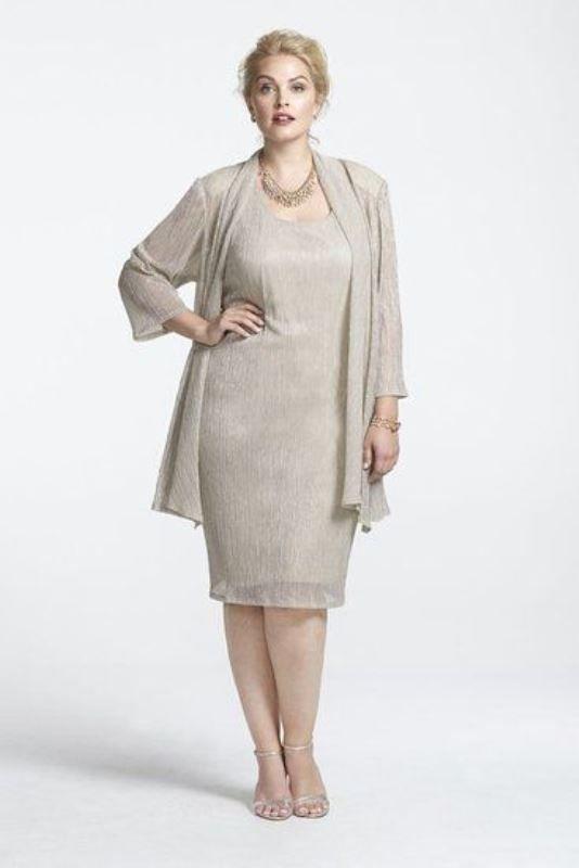 43 Stunning Plus Size Mother Of The Bride Dresses | elegant wedding ...
