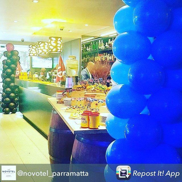 #Balloons by @celebratingevents from @novotel_parramatta using @RepostRegramApp - We're prepped & origin ready...game 1 tonight. Watch it live in 350 Restaurant & Lounge! #novotelparramatta #discoverparramatta #pintxo #winewednesdays #cityofparramatta #stateoforigin #westernsydney #westernsydneyeats #parramatta #parramattaeats #pregame #nrl #footy #coorporateevent #coorporateballoons