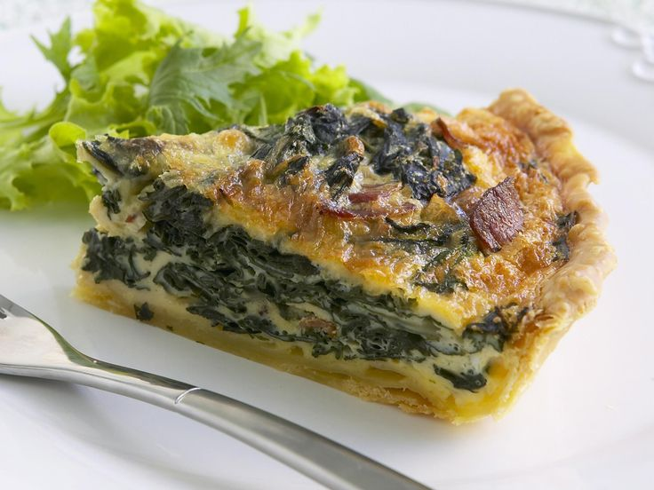 This silverbeet quiche by Woman's Day rich in both flavour and texture. Delicious hot or cold, enjoy with a side salad. For a milder version, substitite the greens with English spinach.