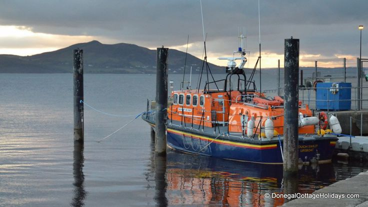 Lough Swilly Lifeboat Buncrana - is the only lifeboat station in the country which operates two lifeboats. One inshore lifeboat and another all-weather Tyne class lifeboat.