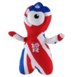 2012 London Olympic Games Mascot Wenlock Soft Toy Gift