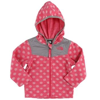 The North Face Infant Girl Lottie Dottie Hoodie