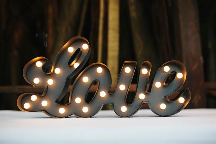 New ❤️ Light Sign to Hire