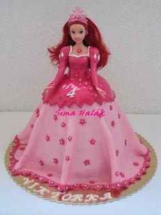 Princezna Ariel , bábiky a torty pre dievčatá torty | Tortyodmamy.sk