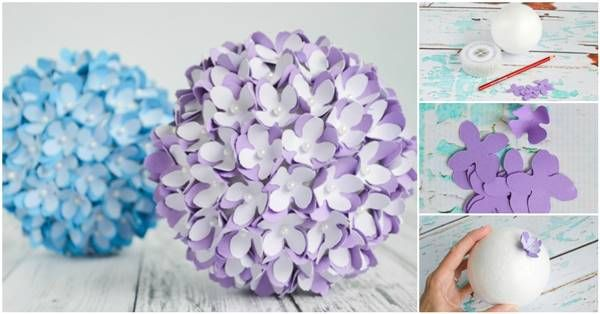 How To Make Paper Flower Balls Monza Berglauf Verband Com