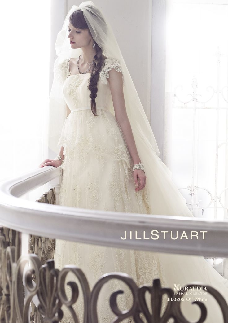 今すぐ結婚したくなる♡ジルスチュアートの最新ウェディングドレスcollection2015*にて紹介している画像