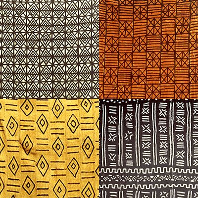 African textile designs - with so few colours the patterns make it so #colourful #africa #patterns