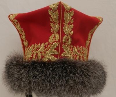 Confederatka da ufficiale dei lancieri rossi del 2 rgt. lancieri olandesi della guardia imperiale
