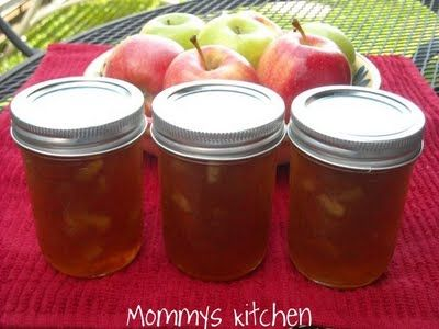 Mommy's Kitchen - Old Fashioned & Southern Style Cooking: Apple Pie Jam {I Love Fall)