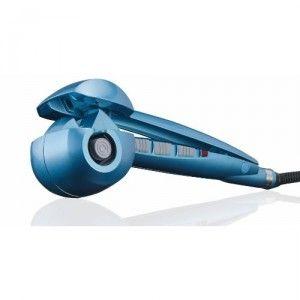 Curl Secret BaByliss Perfect Curl Pro Miracurl Pro Nano Titanium Miracurl Cheveux Curler Bleu