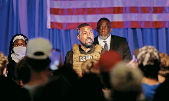Kanye West Holds Chaotic Opening Of 2020 Polls Bid In 2020 Kanye West Kanye Donald