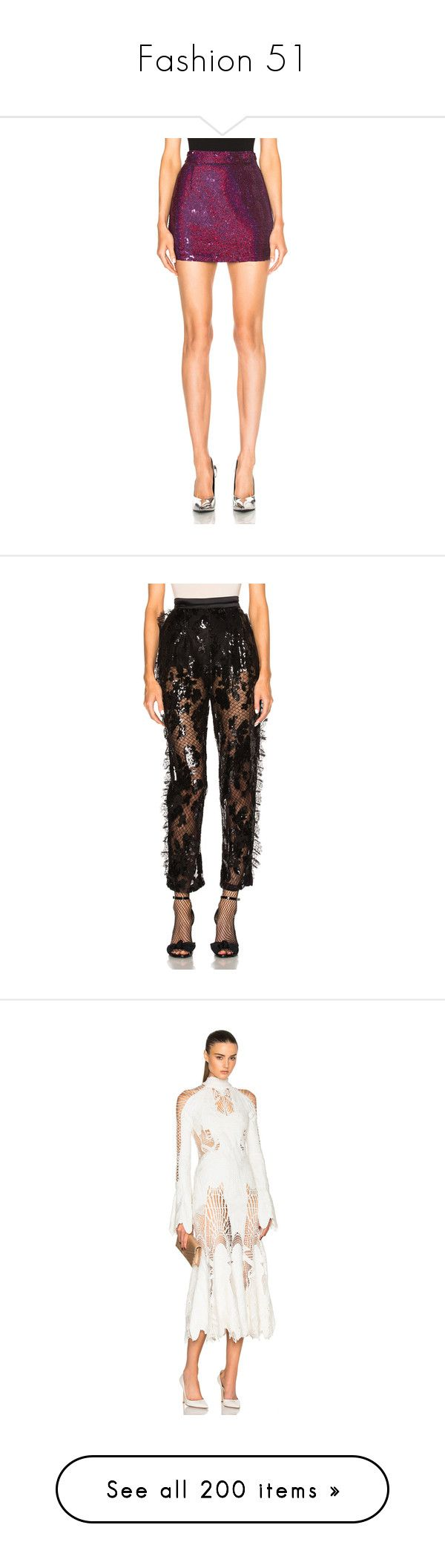 """""""Fashion 51"""" by kira-m1999 ❤ liked on Polyvore featuring skirts, mini skirts, short sequin skirt, red mini skirt, sequin mini skirt, short red skirt, short skirts, pants, sequined pants and lace trousers"""