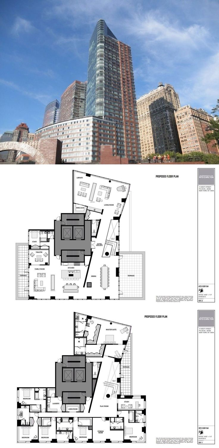 10 West Street PENTHOUSE is a sale unit in Battery Park City, Manhattan priced at $75,000,000.