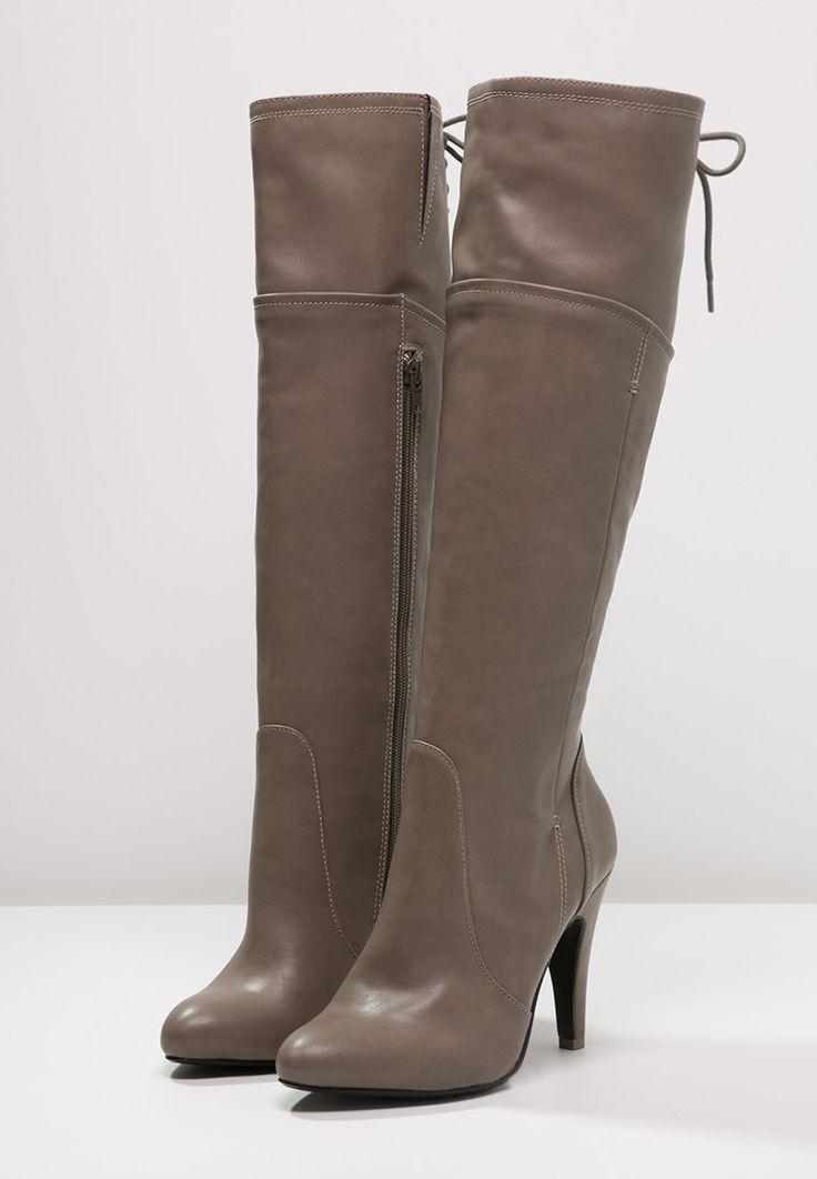 Anna Field Boots med høye hæler - taupe - Zalando.no