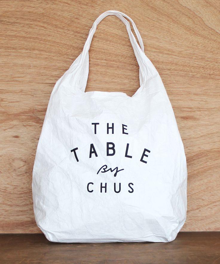 Chus - My bag|那須・黒磯チャウスのタイベック(tyvek)生地のマイバッグ Designed by ALNICO DESIGN アルニコデザイン