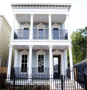 Double Gallery House New Orleans Dream Home