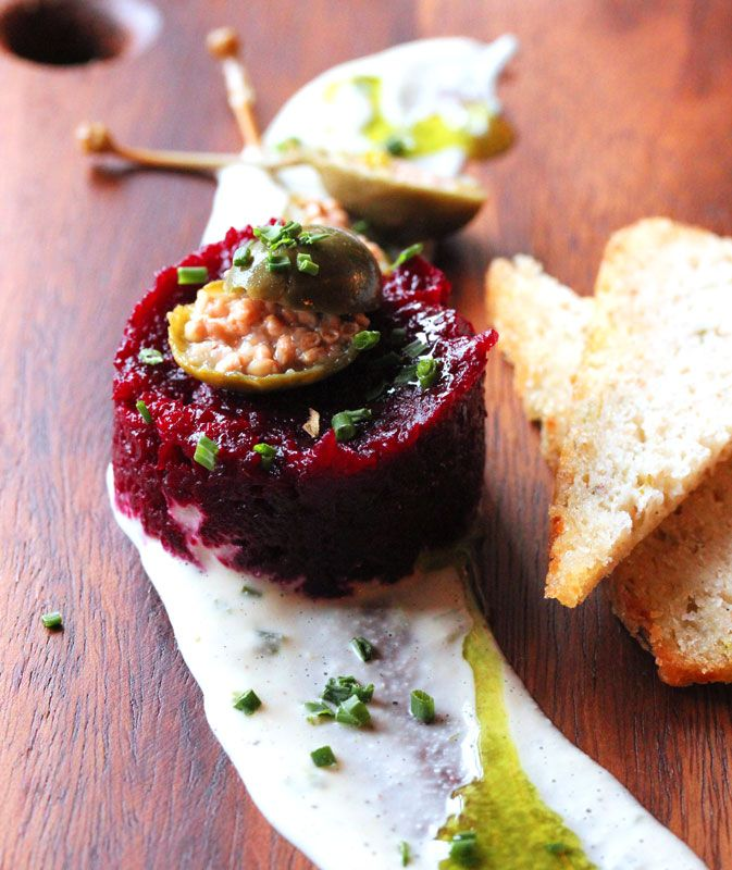 Beet Tartare - The Raw and The Cooked